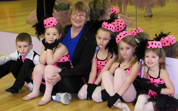 Preschool dance classes in Ohio