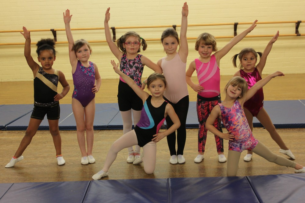 cheer at class act dance studio ohio